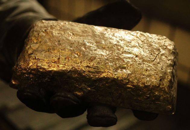 lingot d'or brut
