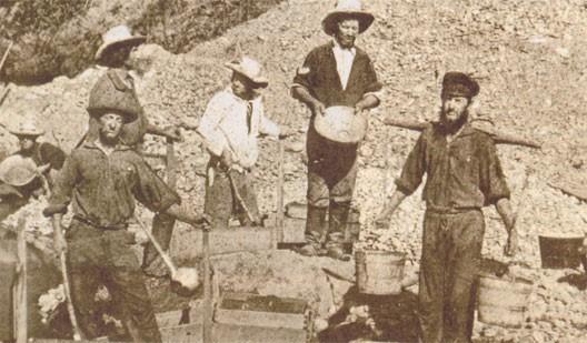 mineurs etat de californie 19 siecle