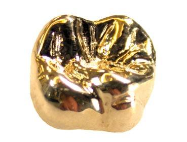 Dent en or 18 carats