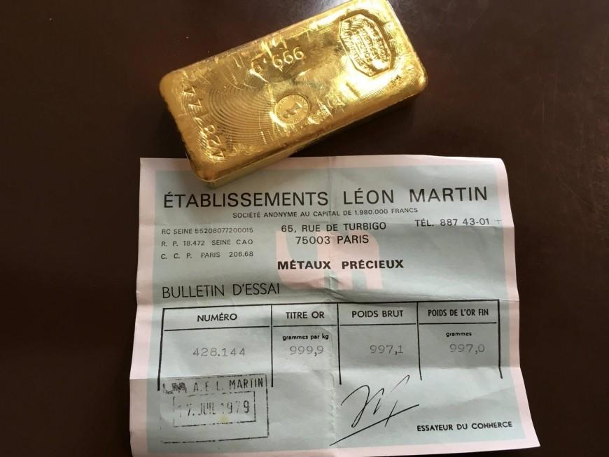 rachat de tous types de lingots d or orobel