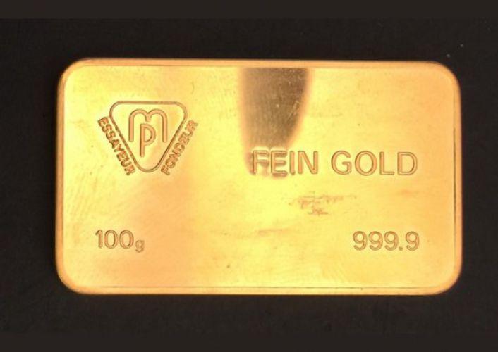 Lingotin de 100 gr d'or