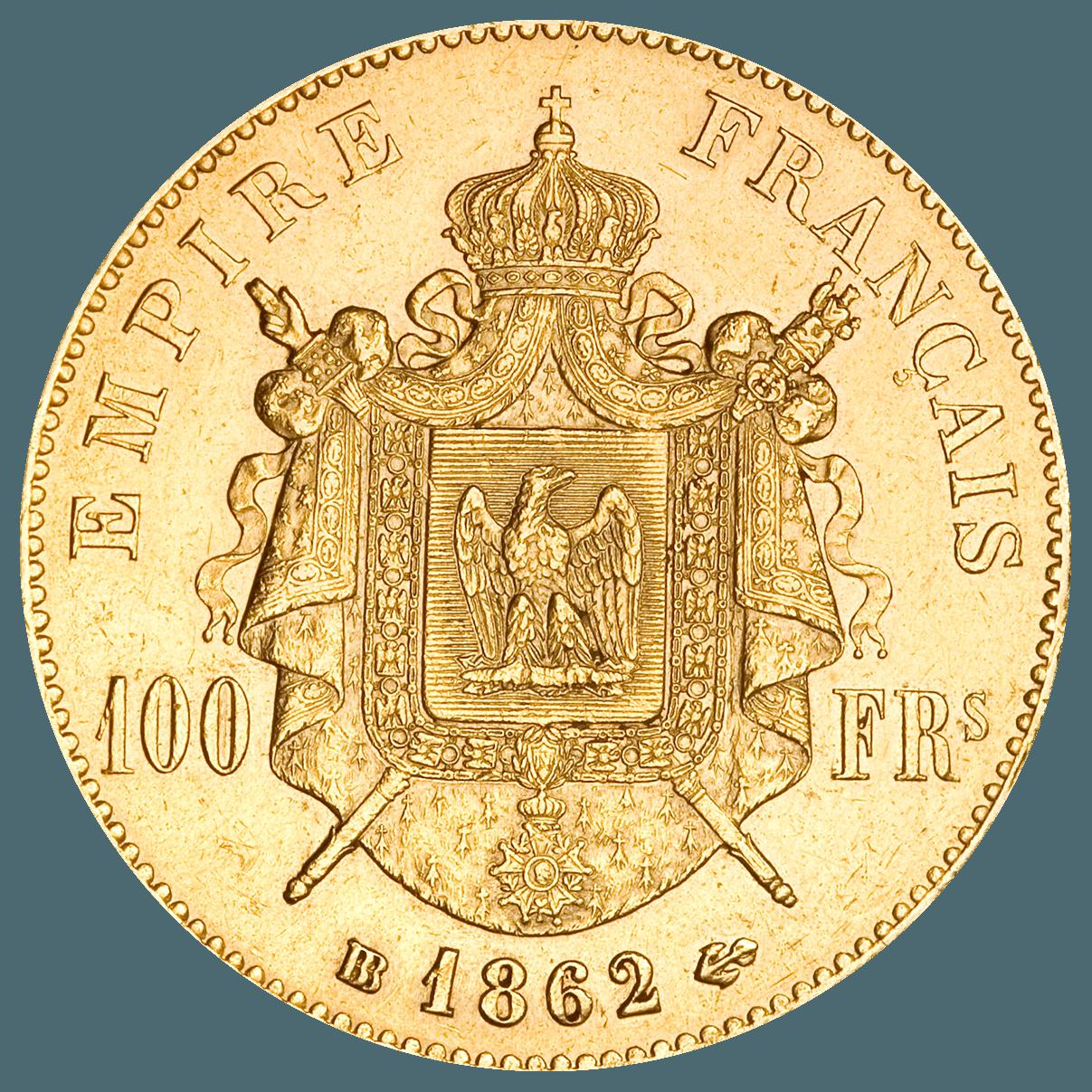 100 Francs Français OR