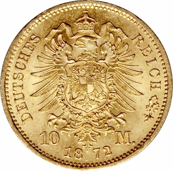 10mark germany gold coin