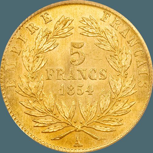 5 francs france OR