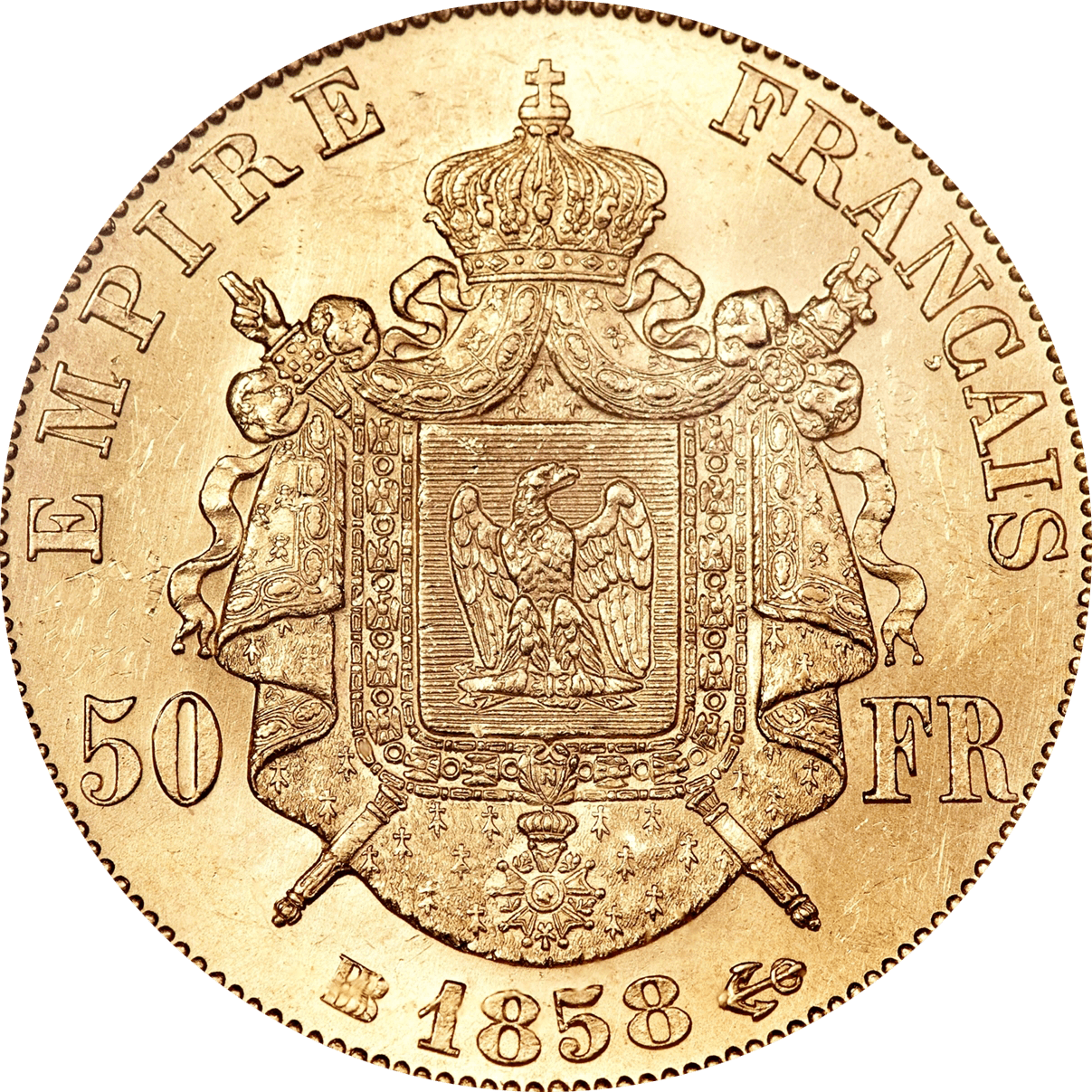 50 Francs Français OR