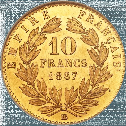 10 Francs France OR