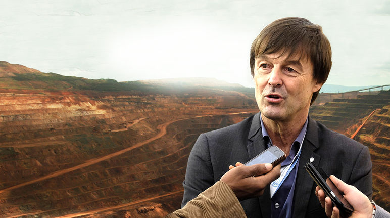 hulot et mine d'or industrielle