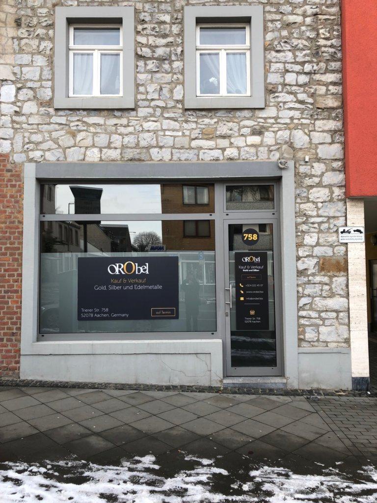 Orobel GmbH, bureaux privés en Allemagne pour transactions d'or en espèces