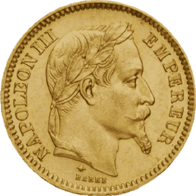 20 francs napoleon or