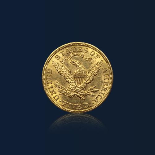 acheter piece or cinq dollars us gold orobel