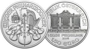 Vienne Philharmonique argent autriche