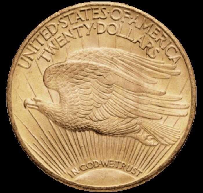 Dollars 20 USA Statue R