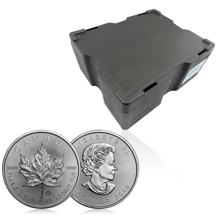monster box orobel maple leaf argent