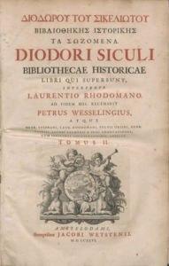 diodori siculi