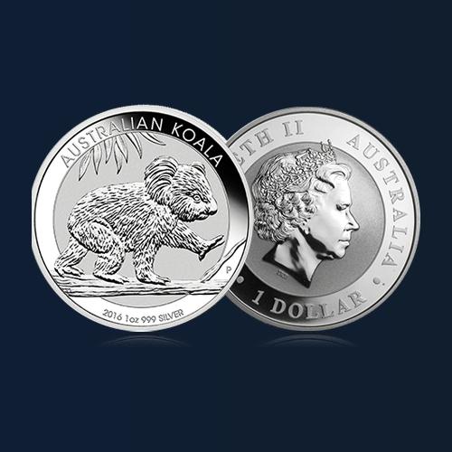 acheter pieces argent australian koala orobel