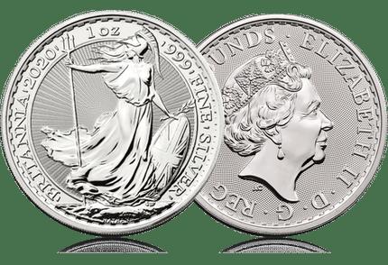 britania argent coin