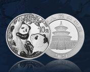 panda chinois argent 2021 orobel