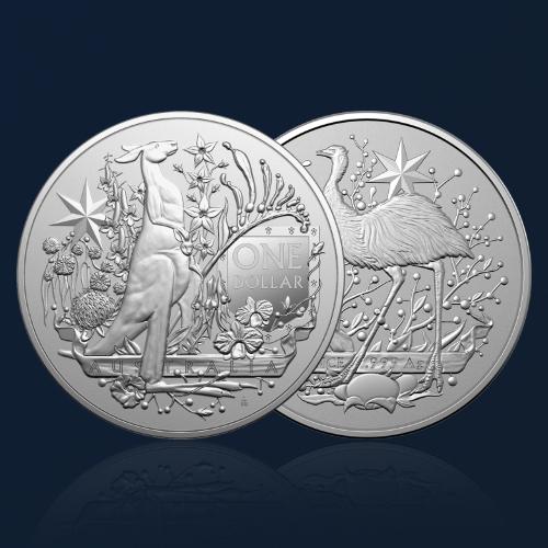 australia coat of arms silver 2021